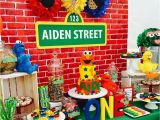 Sesame Street Birthday Decoration Ideas Sesame Street Stephanie 39 S 2nd Birthday Party Pinte