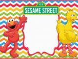 Sesame Street Birthday Invitation Templates 12 Printable Elmo Invitations Children 39 S Favorite