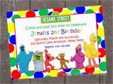 Sesame Street Birthday Invitation Templates the Gallery for Gt Sesame Street Invitations Template