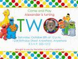 Sesame Street Birthday Invites 2 Year Old Birthday Invitations Dolanpedia Invitations Ideas