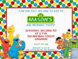 Sesame Street Birthday Invites Sesame Street Birthday Invitation Sesame Street Invitation