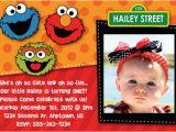 Sesame Street Birthday Party Invitations Personalized Free Printable Elmo Sesame Street Birthday Party