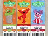 Sesame Street Birthday Party Invitations Personalized Stunning Personalized Sesame Street Invitations Especially