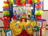 Sesame Street First Birthday Decorations Birthday Quot Elmo Sesame Street 1st Birthday Quot Catch My Party