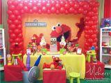 Sesame Street First Birthday Decorations Elmo Sesame Street Birthday Quot Elmo 1st Birthday Party