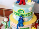 Sesame Street First Birthday Decorations Kara 39 S Party Ideas Sesame Street 1st Birthday Party
