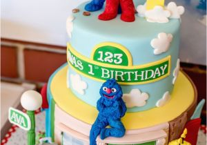 Sesame Street First Birthday Decorations Kara 39 S Party Ideas 1st
