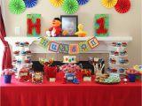 Sesame Street First Birthday Decorations Sesame Street Birthday Quot Hudson 39 S 1st Birthday Quot Catch