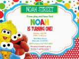 Sesame Street First Birthday Invitations Baby Elmo Invitations Oxyline 11484b4fbe37