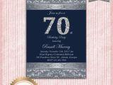 Seventy Birthday Invitations 70th Birthday Party Invitations Party Invitations Templates