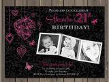 Sexy Birthday Invitations 21st Birthday Party Invitation Adult Birthday Invite Photo