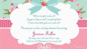 Shabby Chic Birthday Invitation Templates Free Shabby Chic Birthday Invitations Best Party Ideas