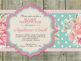 Shabby Chic Birthday Invitation Templates Free Template Shabby Chic Baby Shower Invitations