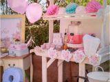 Shabby Chic Birthday Party Decorations Kara 39 S Party Ideas Shabby Chic Bakery Birthday Party