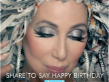 Shared Birthday Meme Happy Birthday Cher Share to Say Happy Birthday Shared