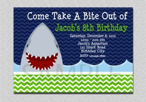 Shark Birthday Invitations Free Printables Invitation Party