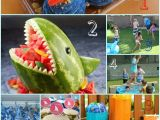 Shark Decorations for Birthday Party Host the Ultimate Shark Party for Kids with Great Blue
