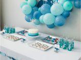 Shark Decorations for Birthday Party Kara 39 S Party Ideas Quot Chomp Quot Shark themed Birthday Party
