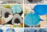 Shark Decorations for Birthday Party Shark Party Ideas Chickabug