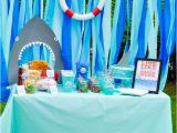 Shark Decorations for Birthday Party Shark Party Ideas the Love Nerds