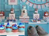 Shark Decorations for Birthday Party Shark themed Birthday Party Popsugar Moms