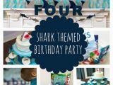 Shark Decorations for Birthday Party Sweet Shark Birthday Party