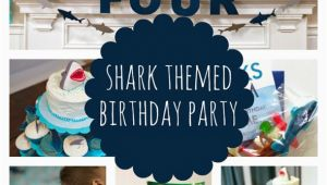 Shark Decorations for Birthday Party Sweet Shark Birthday Party