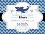 Shark Invites Birthday Party Shark Birthday Invitation Best Party Ideas