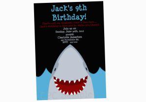 Shark Invites Birthday Party Invitation Invitations Printable
