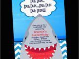 Shark Invites Birthday Party Shark Birthday Party Invitations