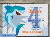Shark Invites Birthday Party Shark Bite Birthday Party Invitation Printable Shark Birthday