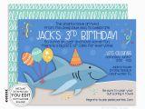 Shark Invites Birthday Party Shark Invitation Shark Invite Shark Party Shark Birthday