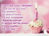 Short Happy Birthday Mom Quotes Quotes Happy Birthday Mom