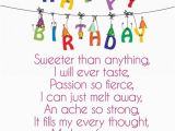 Short Happy Birthday Quotes for Girlfriend 52 Best Happy Birthday Poems My Happy Birthday Wishes