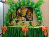 Shrek Birthday Decorations Fiesta Infantil De Shrek