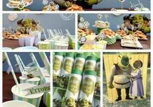 Shrek Birthday Decorations Shrek Birthday Party Festa Di Compleanno A Tema Shrek