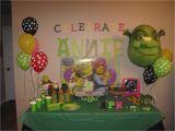 Shrek Birthday Decorations Snowflakes and Starfish Mini Shrek Party