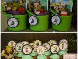 Shrek Birthday Decorations Spoon Full Of Caffeine Kinsley 39 S Party Progressions