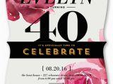 Shutterfly 1st Birthday Invitations Rose Celebration Surprise Birthday Invitation Shutterfly