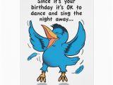 Sing Birthday Cards Dance and Sing Birthday Card Zazzle