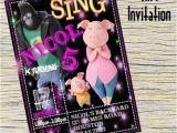 Sing Birthday Cards Sing Invitation Sing Personalizedsing Birthday