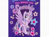 Singing Birthday Cards for Granddaughter My Little Pony Pop Up Musical Birthday Card for