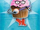 Singing Birthday Cards Hallmark Banjo Cupcake Musical Birthday Card with Motion End Of