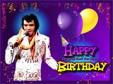 Singing Elvis Birthday Card Elvis Presley Virtual Birthday Cards Www Iheartelvis Net