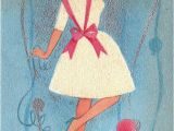 Sister Birthday Cards Hallmark Vintage Hallmark 1960s Say Sister Birthday Greetings Card