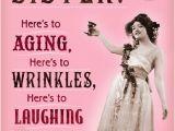 Sister Birthday Cards Hallmark Wrinkles and Tinkles Sister Birthday Card Greeting Cards