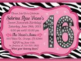 Sixteenth Birthday Invitations 16th Birthday Invitation Ideas Cimvitation