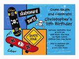 Skateboard Birthday Invitations Skate Skateboard Party Birthday Invitations Zazzle