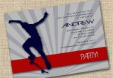 Skateboard Invitations Birthday Party 7 Best Images Of Printable Birthday Cards for Guys Free