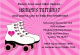 Skating Rink Birthday Party Invitations Roller Skating Birthday Invitations Ideas Bagvania Free